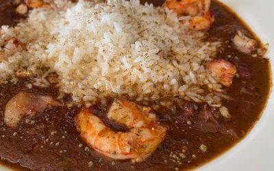 Seafood Gumbo at the Roadhouse